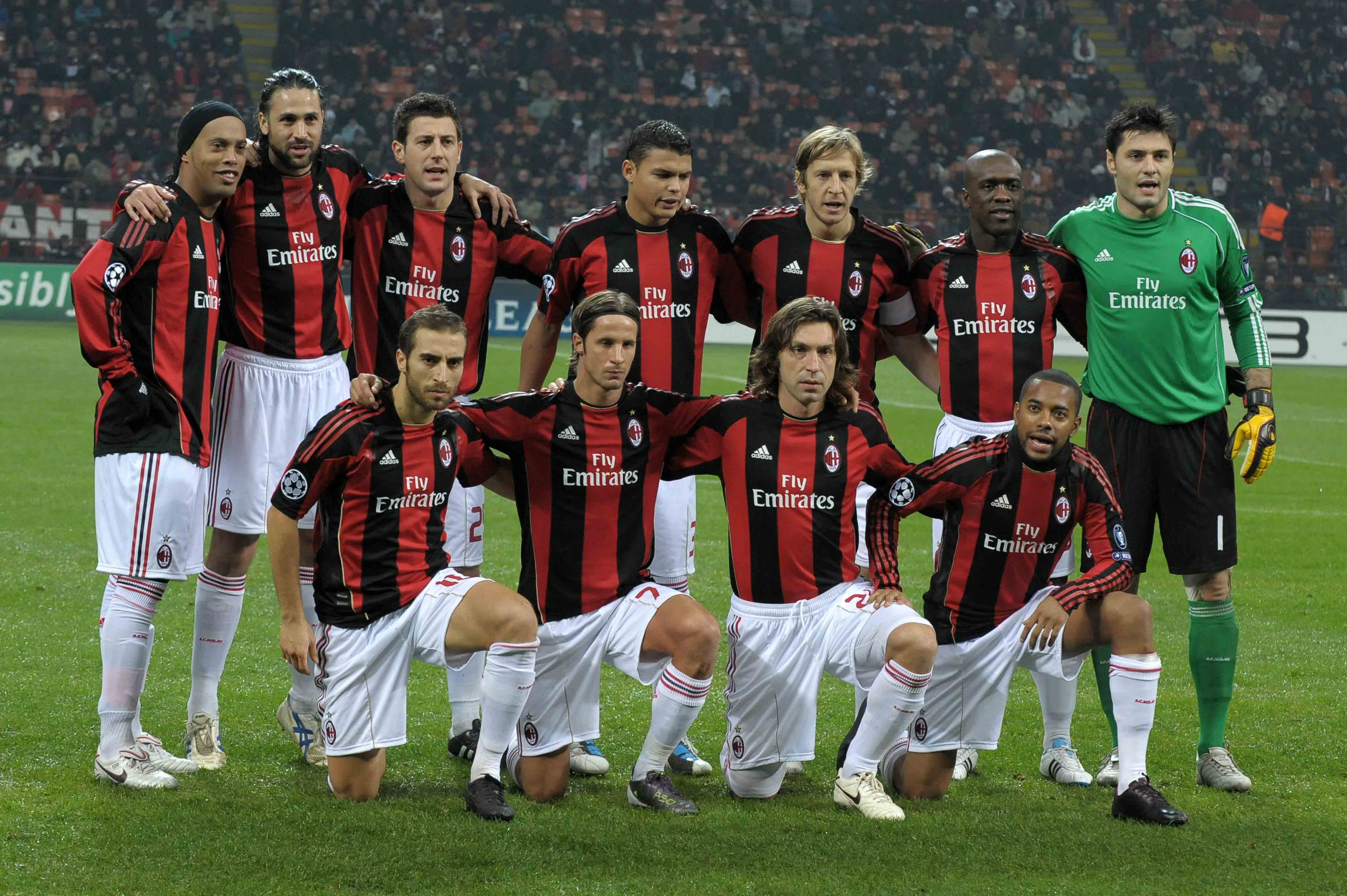 ac milan defenders 2010 camaro - photo#4